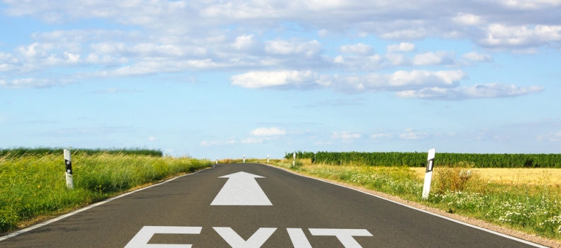Preparing an exit strategy