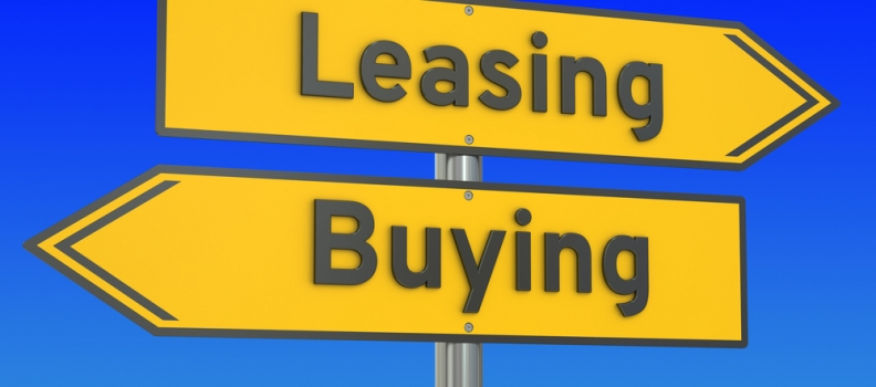 Should you lease or buy equipment?